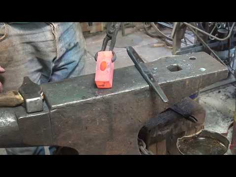 Forging a cross peen hammer