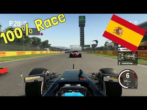 F1 2015 - 100% Race at Circuit de Barcelona-Catalunya, Spain in Alonso's McLaren Honda