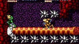 [HD] TAS: SNES Battletoads in Battlemaniacs (USA) in 19:08.1 by FODA&Vatchern