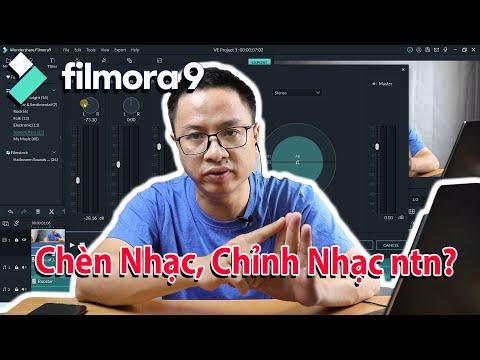 Hướng Dẫn Chèn Nhạc Vào Video Dạy Học Với Filmora9 - Kèm Gói Hiệu Ứng Âm Thanh Miễn Phí