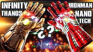 ANALISIS: GUANTES THANOS vs IRONMAN - ¿Cuál es mas Poderoso?    Avengers ENDGAME [Alien Legacy]