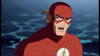 The Flash vs Capitan Frío - JLA: La nueva Frontera-