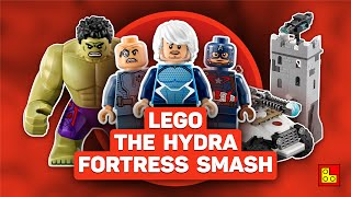 ◉ LEGO Marvel - Hydra Fortress Smash stop motion build review┃Обзор ЛЕГО 76041