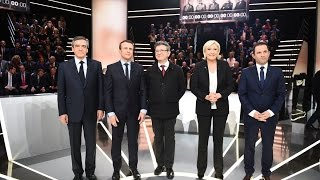Macron Leads the Pack Following First French Debate