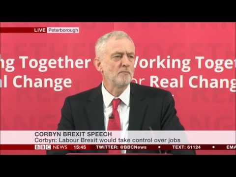Jeremy Corbyn's speech in Peterborough - Jan 2017