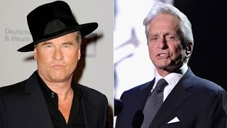 Michael Douglas Claims Val Kilmer Is Battling Tongue Cancer