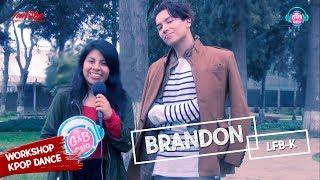 [G&B ASIA TV] Brandon (LFB-K) WORKSHOP KPOP DANCE en PERU