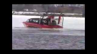 Airboat Rescue on Ice