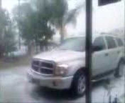 hail in Baldwin Park, CA part 2 2008
