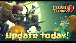 Próxima actualización de Noviembre de Clash Of Clans - Clash Con 2015