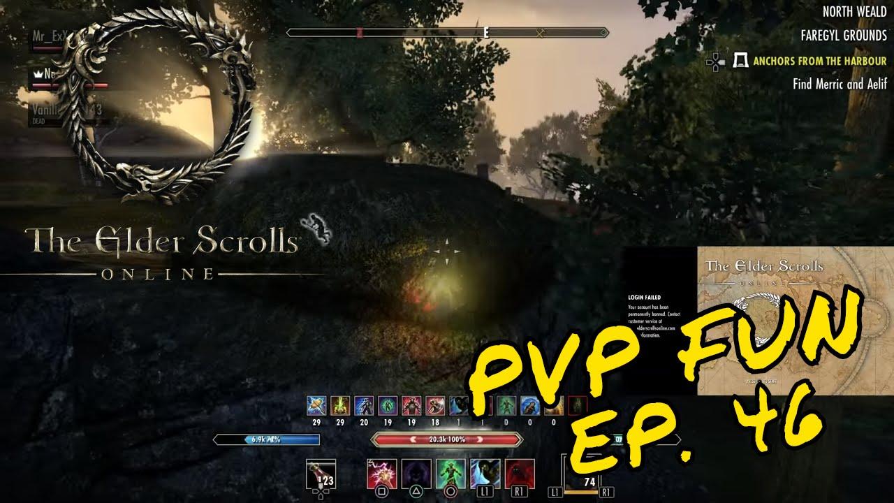 ESO - PvP Fun Episode 46 (Stamina Nightblade) - EPIC MOMENTS - Nesquik Kid