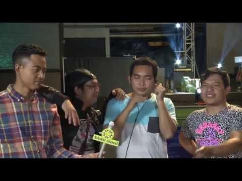 Wali Band wawancara di Konser 17 Tahun Wali