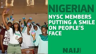 NYSC members doing little wonders