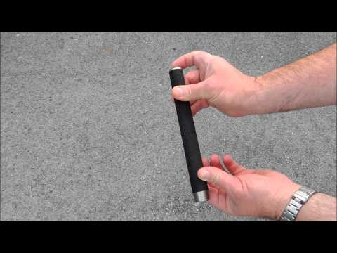 How to operate a friction lock baton