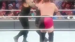 Brock Lesnar mad