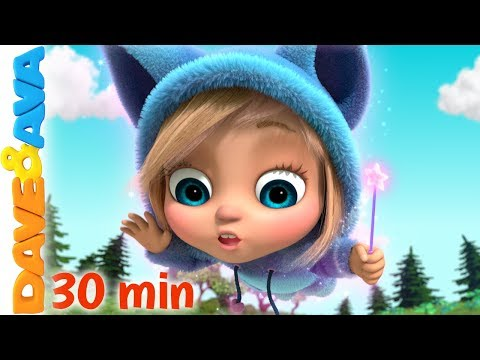 😼 Little Bunny Foo Foo and More Nursery Rhymes by Dave and Ava 😼