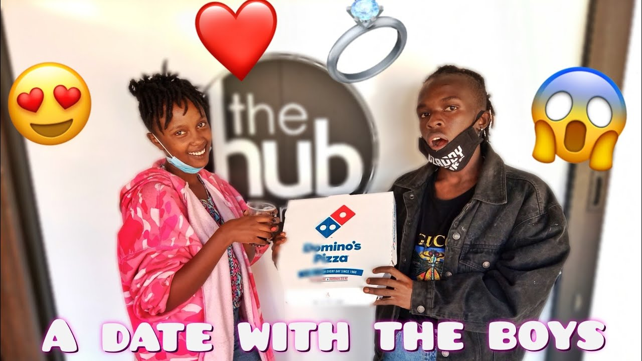 I TOOK MY GIRLFRIEND ON A DATE WITH THE BOYS😍||THE HUB KAREN!!