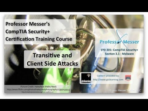 Understanding Transitive and Client-Side Attacks - CompTIA Security+ SY0-301: 3.2