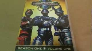 Big Bad BeetleBorgs Season 1 Volume 1 DVD Unboxing