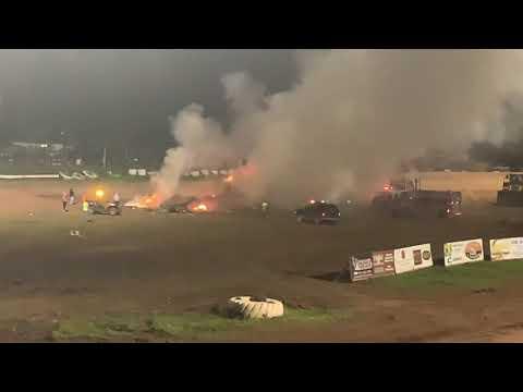 Proctor Speedway Bus Races 2019