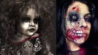 Halloween Makeup - Pretty And Scary Halloween Makeup Ideas - MUST SEE 2018 #4