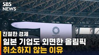 일본 기업도 외면한 올림픽…취소하지 않는 이유 / SB…