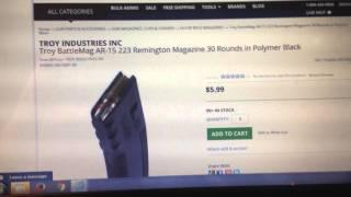 DEAL ALERT Super cheap Ar-15 Mags from Troy Industries DEAL ALERT