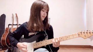 エレキギター始めて3ヶ月で弾いてみた[ Basket Case / Green Day ] ミキ