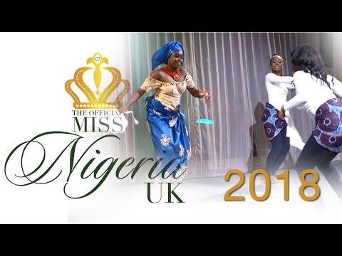 Miss Nigeria UK 2018 – Culture Round