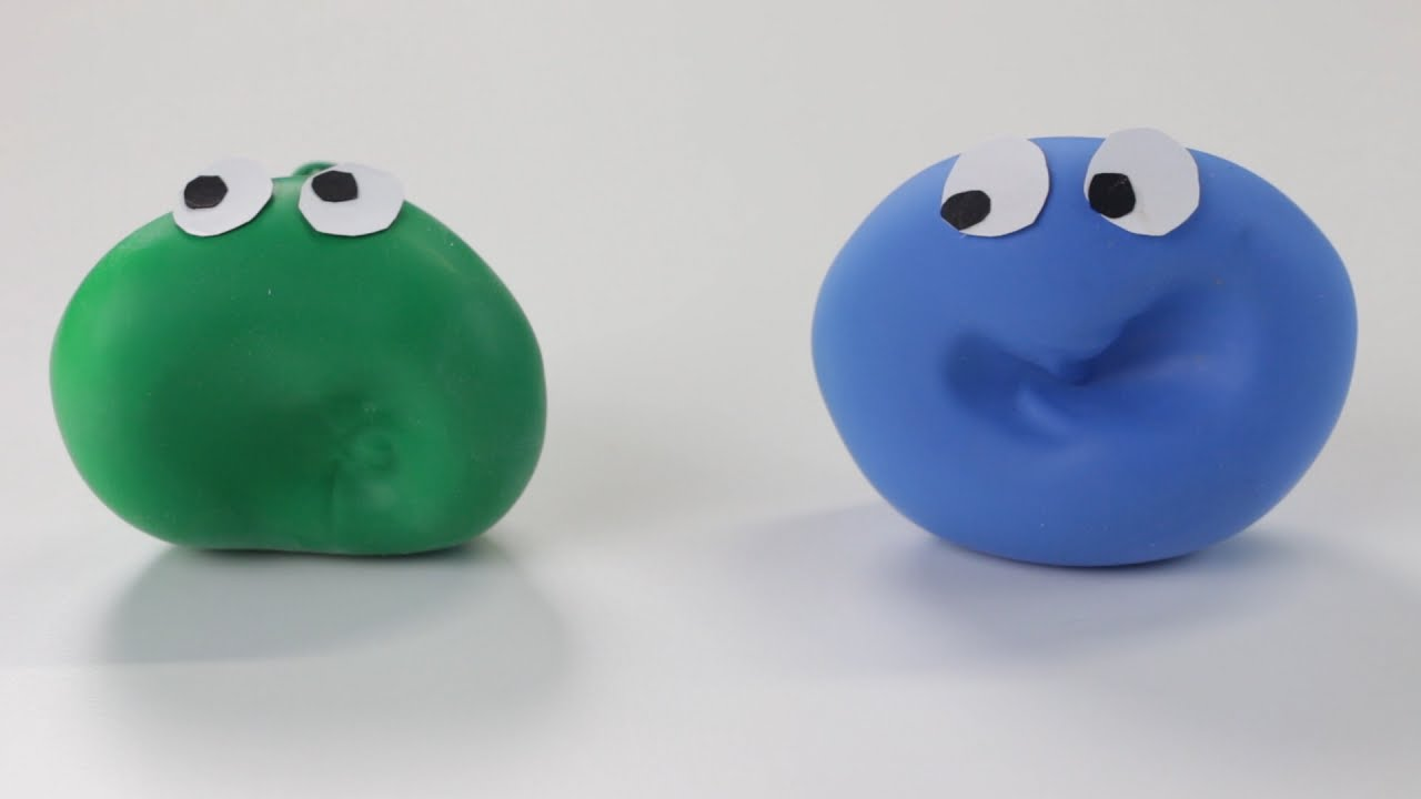 C mo hacer un mu eco moldeable youtube - Hacer munecos con globos ...