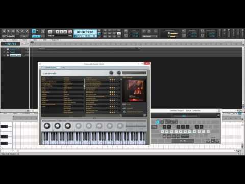 Sonar and Cakewalk Soundcenter + Game designer DLCs
