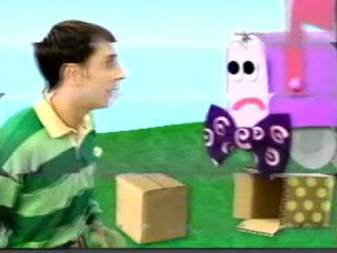 Closing To Blues Clues Blues Big Musical Movie 2000 VHS
