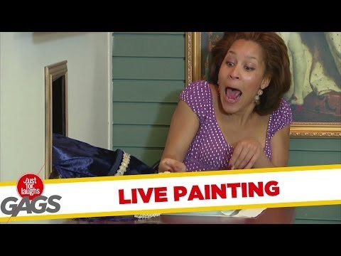 Live Painting Prank