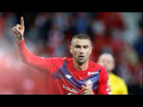 Burak Yilmaz goals vc Nice | 2021