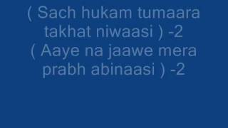 Dhan Su Wela Jit Darshan Karna -My own Music -Gurbani shabad -Devotional song -L1M