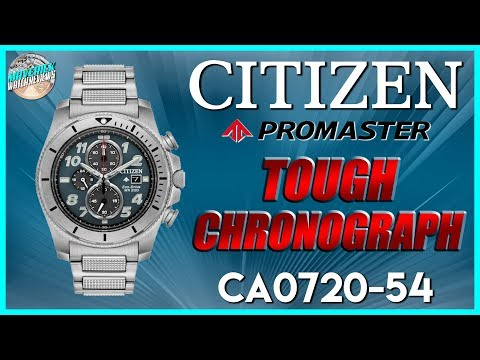 Breitling Is That You? | New Citizen Promaster Tough Solar Chronograph CA0720-54 Unbox & Review