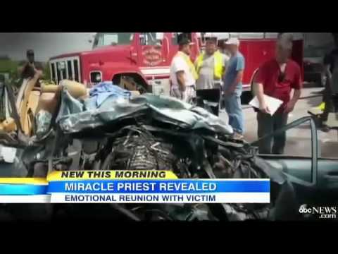Mystery Priest Car Accident