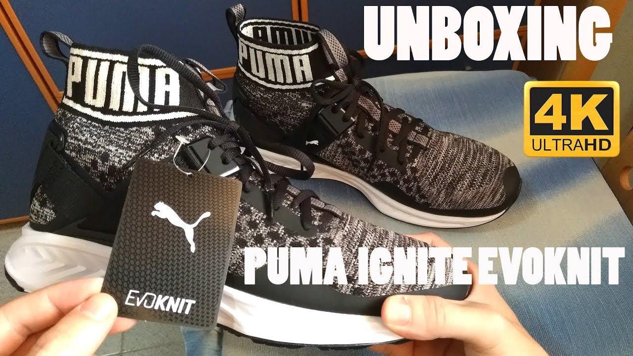 san francisco 9850c 5bb88 Puma IGNITE EVOKNIT - Running Shoes | Unboxing 4k