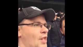 Батрутдинов и Харламов на матче Челси