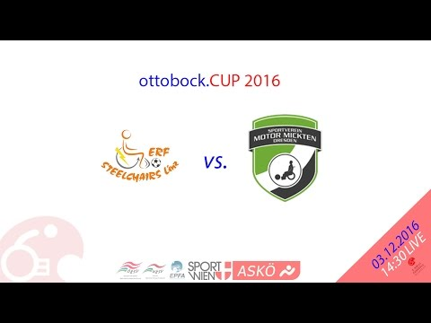 ottobock.CUP2016 CL Steelchairs Linz (AT) vs. Power Lions Dresden (DE)