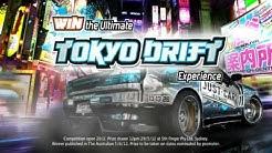 Just Car Insurance Tokyo Drift - Win the trip of a lifetime!