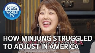 How Minjung struggled to adjust in America [Happy Together/2019.07.25]