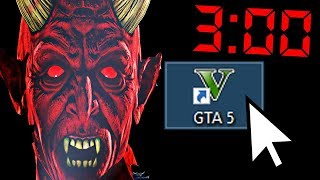Никогда не запускайте GTA 5 в 3 часа ночи, иначе... (судная ночь)