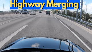 HOW TO MERGE OΝTO A HIGHWAY OR INTERSTATE (DRIVING TUTORIAL)