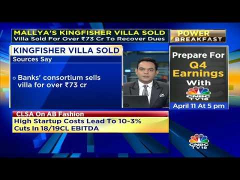 Mallya's Kingfisher Villa Sold