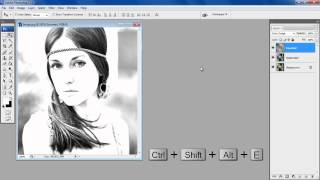 How to create a Simple Sketch Effect in Photoshop