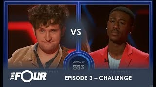 Jefferson vs Jason: This Battle Quickly Turns Into a WAR!! | S1E3 | The Four
