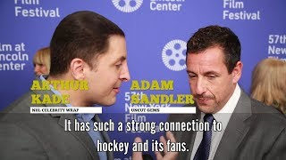 Adam Sandler joins NHL Celebrity Wrap to share his connection to hockey