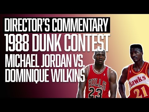 Michael Jordan vs. Dominique Wilkins | NBA Slam Dunk Contest | Director's Commentary | The Ringer