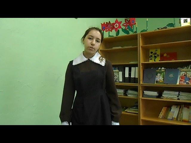 Изображение предпросмотра прочтения – ДиляраКасимова читает произведение «Идешь,на меня похожий...» М.И.Цветаевой